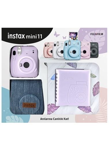 Fujifilm Instax mini 11 Jean Çantalı Lila Kit Lila